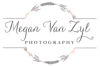 Megan Van Zyl Photography – Johannesburg Gauteng South Africa Wedding Lifestyle and Family Photographers Photographer logo